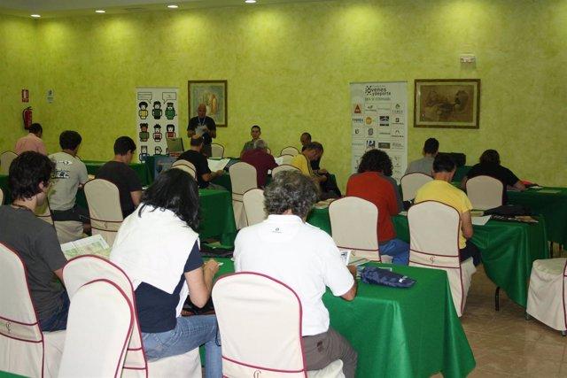 Participantes en la prueba