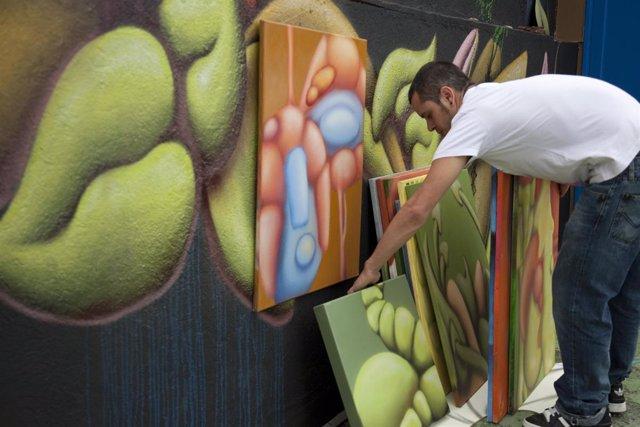 Tras la firma de Kob se esconden los graffitis de Víctor Pacheco