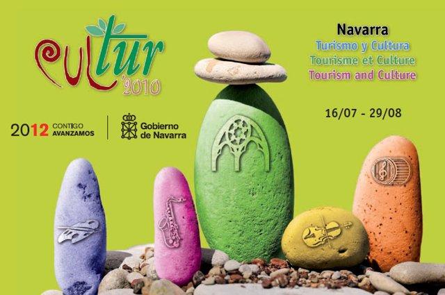 Cartel anunciador de Cultur 2010.