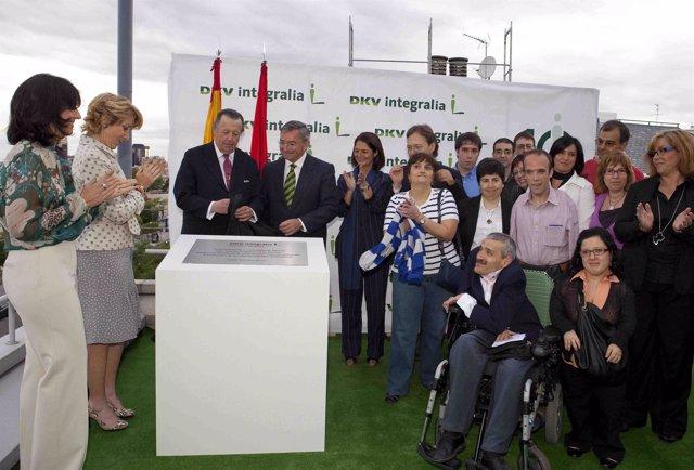 Inauguración de las nuevas instalaciones de Integralia