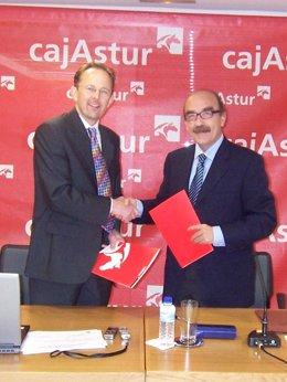 Convenio entre LSE y Cajastur