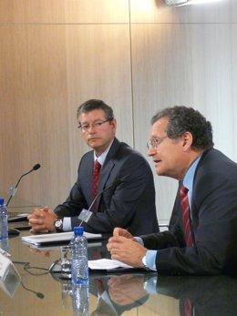 Fernando Echegaray (izquierda) y Juan lema (derecha)