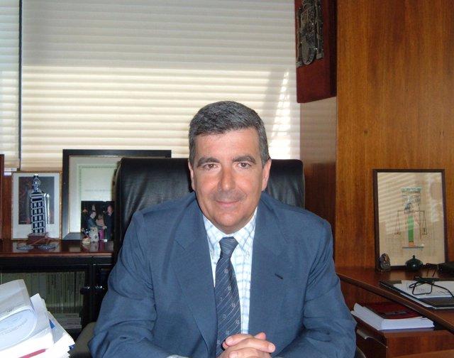El presidente del TSJN, Juan Manuel Fernández.
