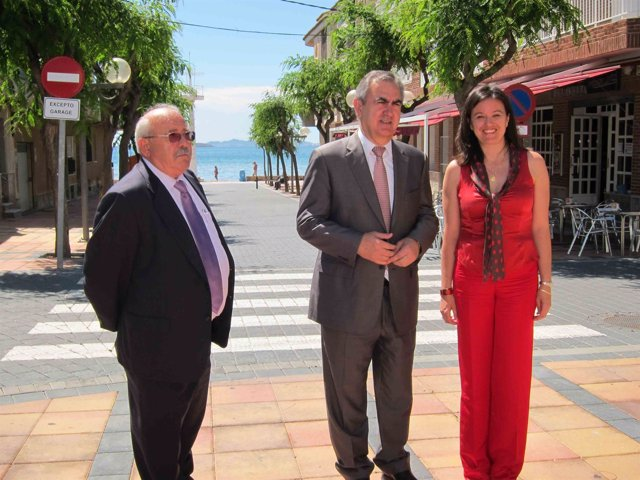 Inauguración obras del Plan E en Los Alcázares