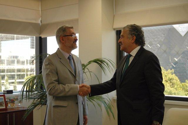 Antonio Ávila y José Bogas