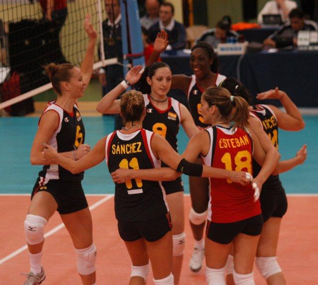 Selección Femenina de voleibol Liga Europea