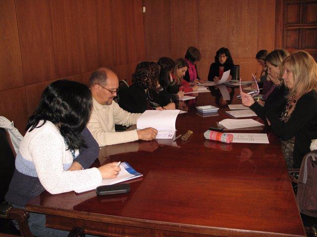 Representantes del Programa de Protección de Violencia de Género