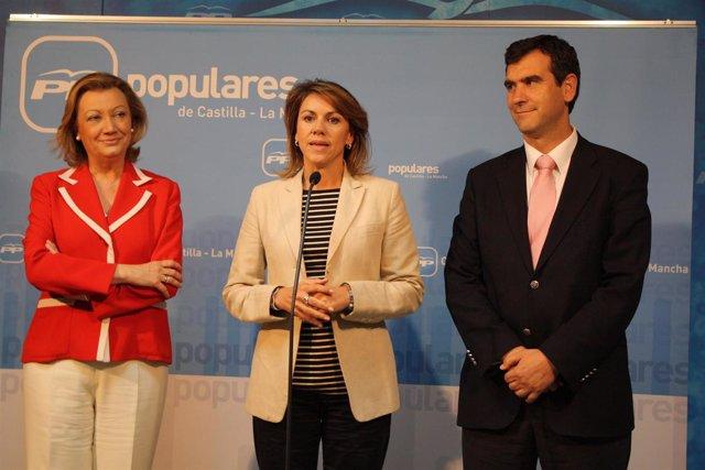 Cospedal, Rudi y Román