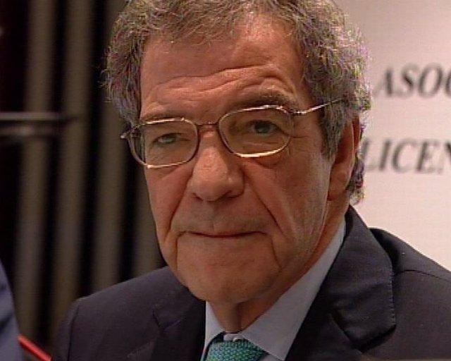 presidente de Telefónica, César Alierta