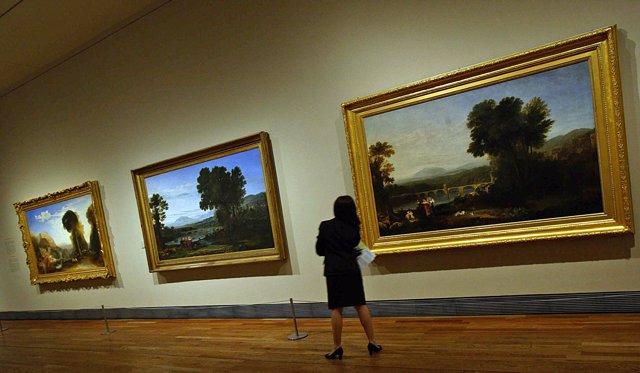 Exposición de Turner en el museo de El Prado