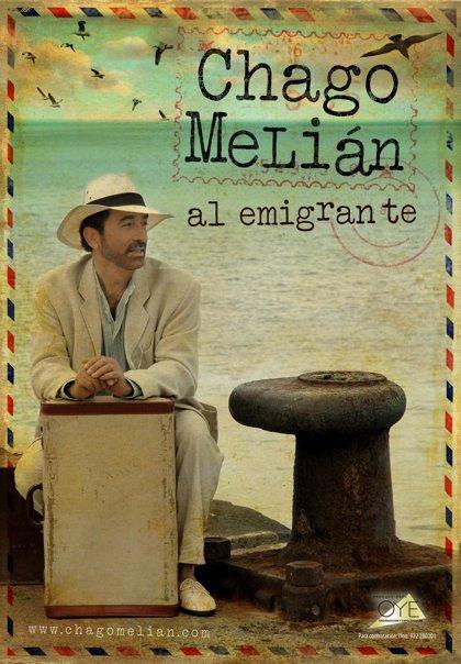 El cantante tinerfeño Chago Melián presenta hoy en Tenerife su espectáculo 'Al Emigrante'