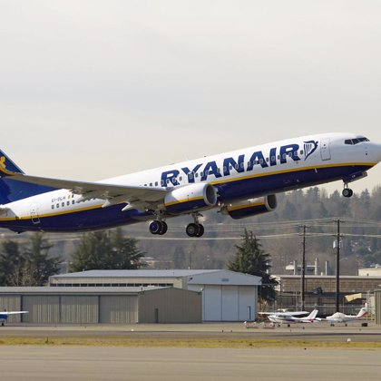 Ryanair abre hoy su primera base de operaciones en Málaga, con una ruta a Valladolid
