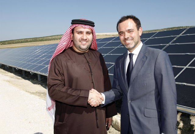 Sulaiman Al Fahim y José Antonio Valle