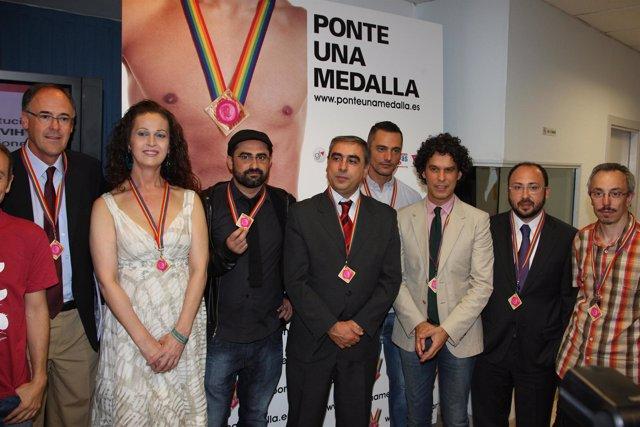 Presentación campaña 'Ponte una medalla'