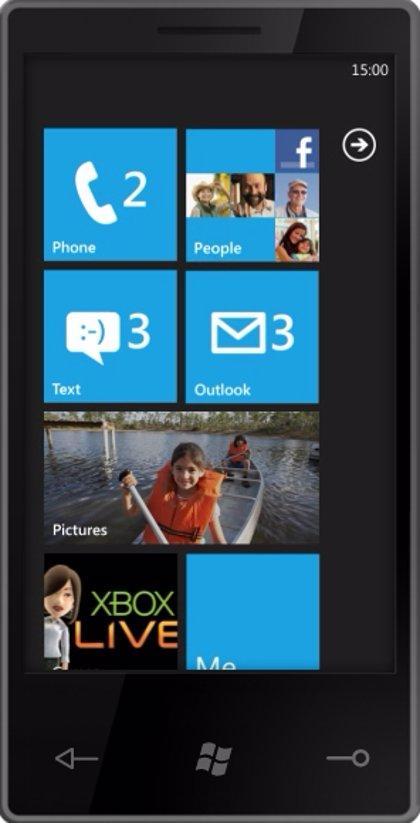 Windows Phone 7 llegará octubre