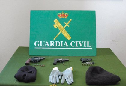 Cuatro detenidos en León cuando cometían un robo con intimidación armados con armas de fuego
