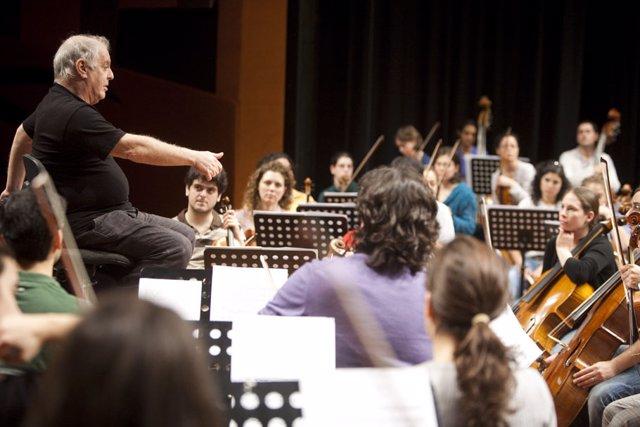 La Orquesta West-Eastern Divan inaugura su gira 2010 con un concierto en Jaén y