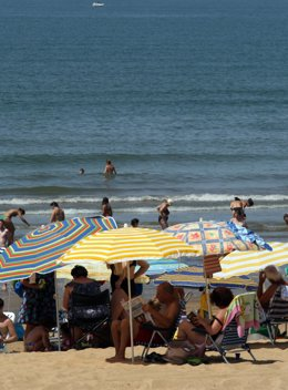 Imagen de una playa andaluza