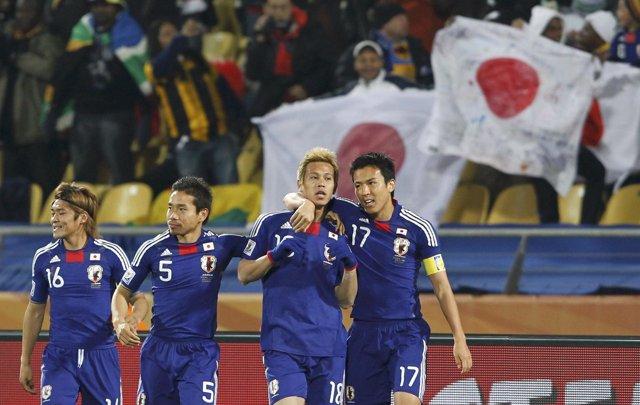 Japón da un recital de fútbol