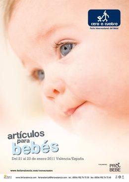 Cartel del certamen 'Cero a Cuatro 2011'