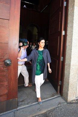 Presidenta del Parlamento, Pilar Rojo