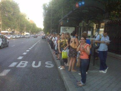 Caos en la superficie de la capital ante la huelga de Metro, que no ofrece servicio