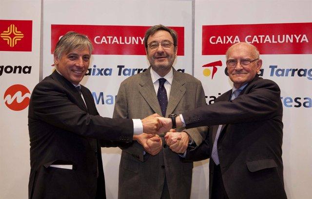 Firma de la escritura de Caixa d'Estalvis de Catalunya, Tarragona i Manresa