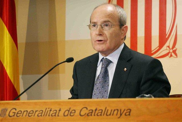 El presidente de la Generalitat, José Montilla.