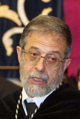 El rector de la UVA