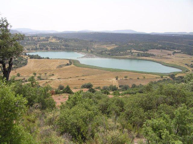 Vista de las lagunas de Estaña (Huesca)