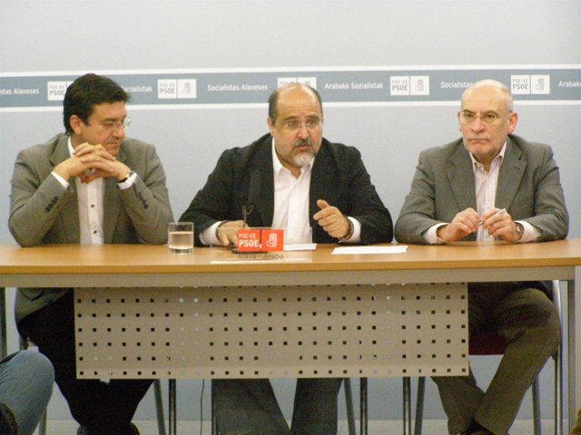 Patxi Lazcoz, Txarli Prieto, Víctor García