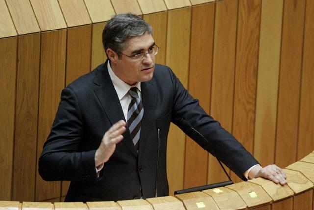 Carlos Aymerich, portavoz parlamentario del BNG