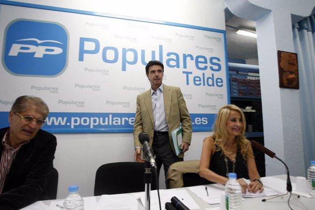 El presidente del PP de Canarias, José Manuel Soria