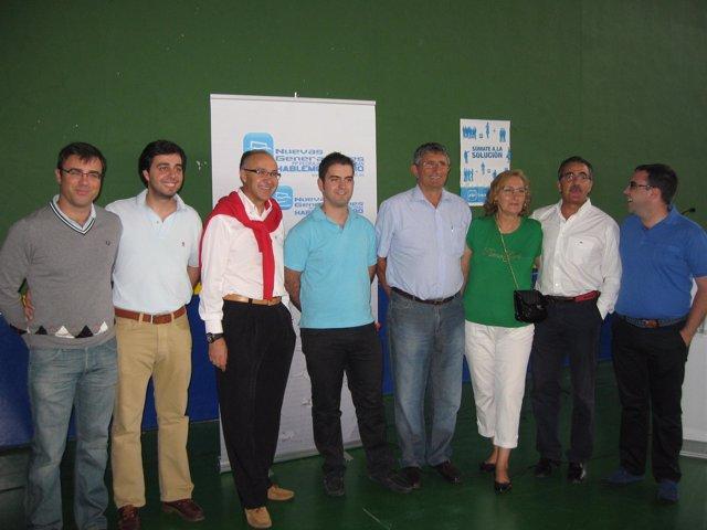 Los participantes en el foro en Pedrajas de San Esteban (Valladolid)