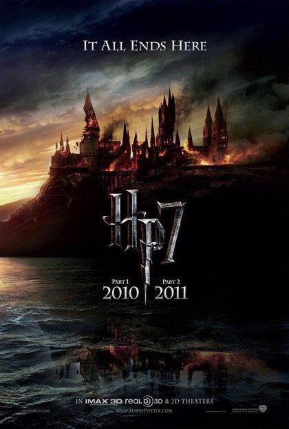 Arde Hogwarts en el último Harry Potter