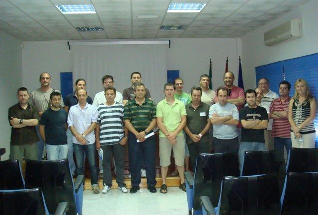Profesores asistentes a los cursos