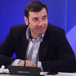 secretario general del PSM-PSOE, Tomás Gómez