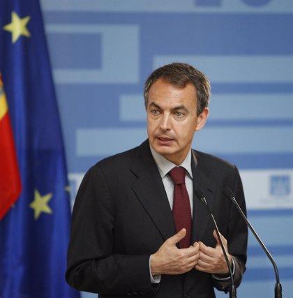 """Zapatero acusa al PP de llevar ante el TC todo """"lo que pierde políticamente"""""""