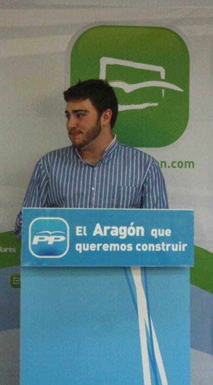 El nuevo presidente de Nuevas Generaciones del PP de la Hoya de Huesca se propone aumentar la afiliación