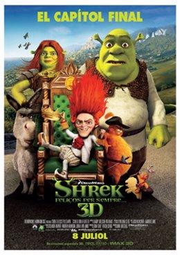 Cartel de 'Shrek'