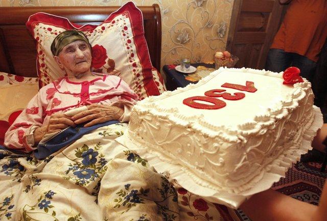 Anciana georgiana de 130 años