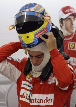 El piloto español de Ferrari, Fernando Alonso
