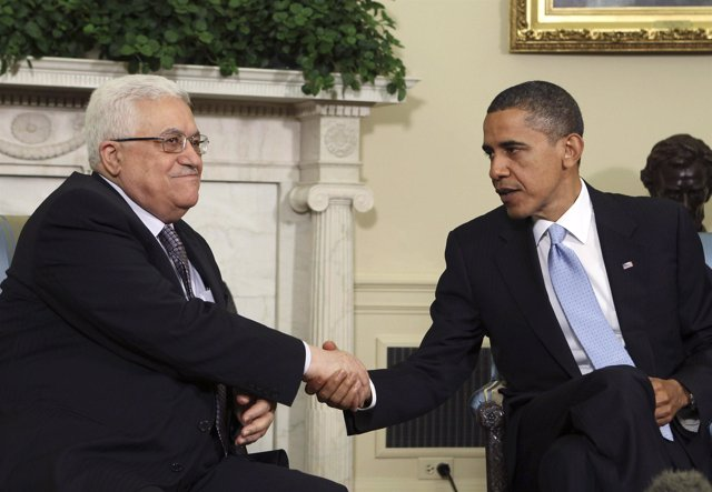 Obama y Abbas