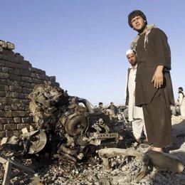 Civiles en Afganistán