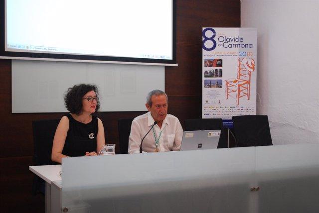 Elio Berhanyer, en los cursos de la UPO
