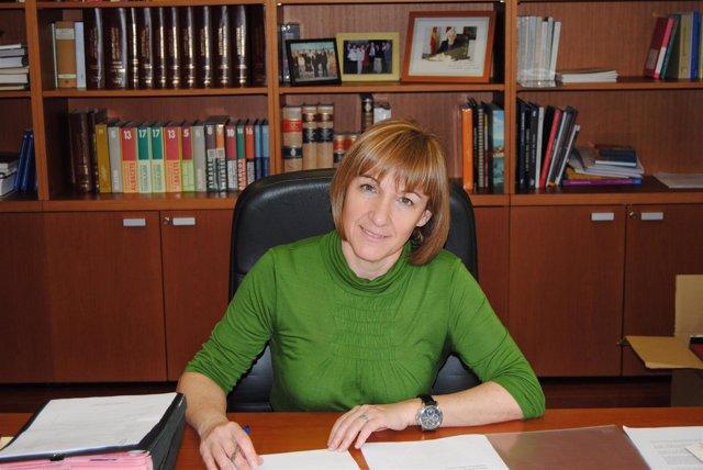 La consejera de Educación, Ciencia y Cultura, María Ángeles García