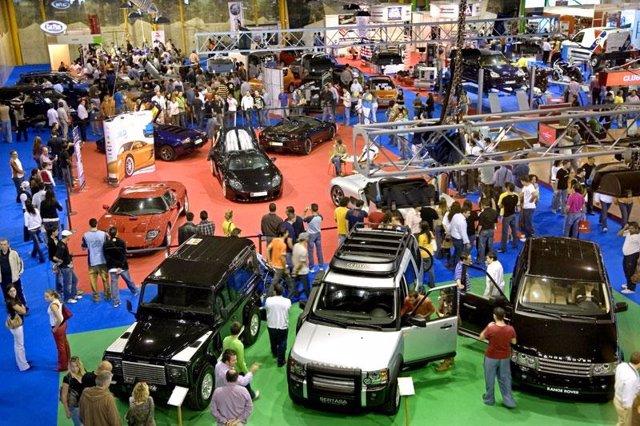 Salón del Automóvil en el Palacio de Ferias y Congresos de Málaga