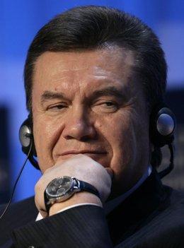 Viktor Yanukovich, presidente de Ucrania