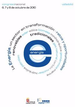 Cartel del Congreso de energía que organiza el EREN.