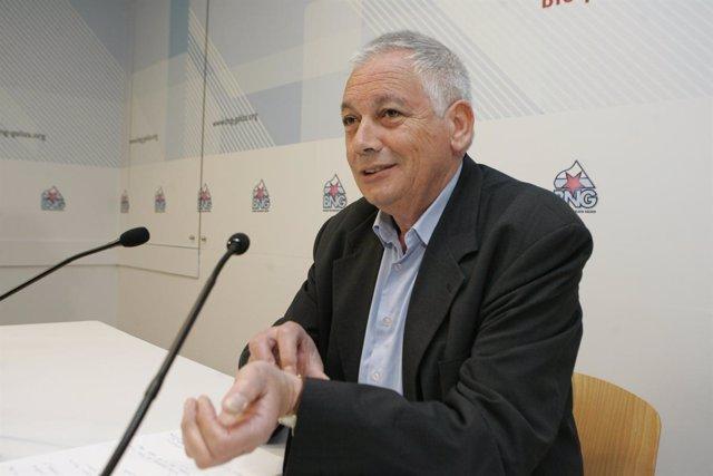 Guillerme Vázquez, portavoz nacional del BNG